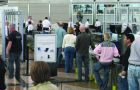 Increased airport security worldwide has contributed to longer lines at airports since the 9/11 attacks.