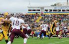 The McMaster Marauders beat the Gaels 26-2 in the season opener at Richardson Stadium on Sept. 5