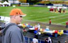 Matt O'Donnell watches his former team beat the Western Mustangs 37-0 on Saturday.