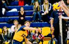 Aaron Nusbaum and the men's volleyball team lost to McMaster and narrowly beat York on the road this weekend.