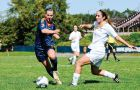 The women's soccer team gained only one of a possible six points against Toronto in 2011.