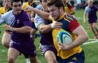 Captain Dan Moor scored a solo try in the opening minute of Sunday's 29-18 win over Western.