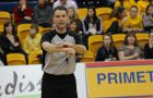 Justin Walsh served as the crew chief in last Saturday's women's basketball game between the Queen's Gaels and the Laurentian Lady Vees.