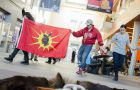 Dancers perform in the JDUC in solidarity with Idle No More. See page 9 for full story.
