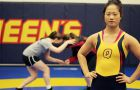 Third-year wrestler Yi Quan placed fourth in the women's 63 kg division at the OUA championships, leading Queen's women to a seventh-place finish overall.