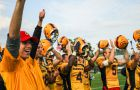 Queen's scored 30 unanswered points on Saturday, erasing an early Guelph lead and cruising to victory.