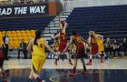 Though Queen's shot just 32.9 per cent from the field against Guelph, they held the Gryphons to an even worse percentage and pulled away late.
