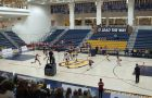 The Gaels beat Nipissing in straight sets at home, marking the first time the two programs have ever faced each other.