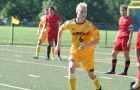 On Sunday, striker Jacob Schroeter recorded a pair of goals in his debut with Queen's, a 5-0 blowout of the RMC Paladins.