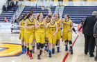 Women's basketball captured the OUA East title last year, defeating the Carleton Ravens in the title game 62-58.