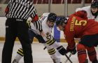 Gaels centre Darcy Greenaway had five points in the Gaels' two games against the Lakehead Thunderwolves last weekend.