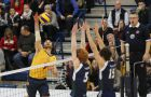 Philippe Goyer led the Gaels in kills during both games and is sixth in the OUA with 3.37 kills per set.