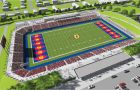An image of potential plans for the revitalization of Richardson Stadium.