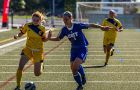 Sarah Nixon scored two goals against the Trent Excalibur this weekend.