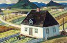 A 1933 oil painting by Yvonne McKague Housser titled South Shore, from the Hart House Art Collection.
