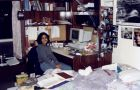 Renu Mandhane, ArtSci '98, in her dorm room in Gordon Brockington House.