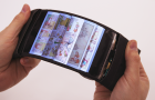 The smartphone, named ReFlex, is the first wireless flexible phone of its kind.