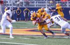 The Gaels won their first game of the season 20-5 against Toronto at Richardson Stadium.