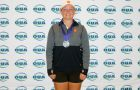 Robyn Campbell won silver at the OUA Championships.