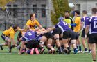 The men's rugby team beat the Western Mustangs last Saturday to move on to the OUA Championships.