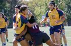The women's rugby team plays Guelph on Saturday for OUA gold.