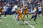 The Gaels knocked the wind out of U of T this weekend, defeating them 43-7.