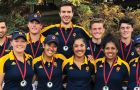 The men's and women's golf team won four medals this weekend.